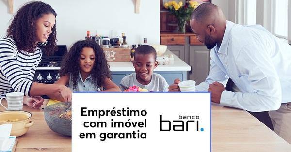 Banco Bari oferece empréstimo flexível com imóvel em garantia