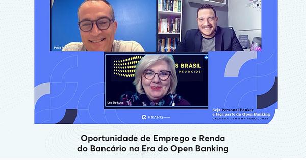 Oportunidade de Emprego e Renda do Bancário na Era do Open Banking