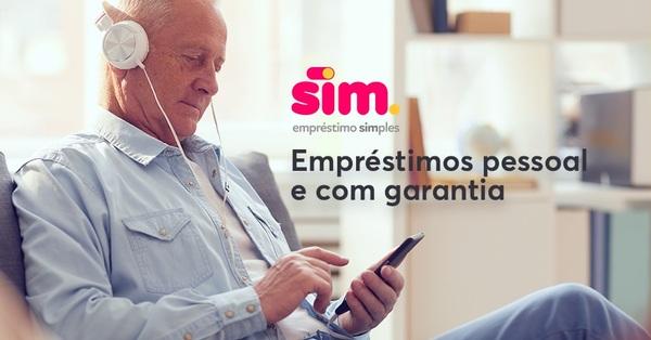 Plataforma digital Sim oferece empréstimos pessoal e com garantia 100% online
